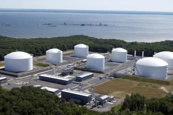 Cove Point LNG Import Project & Export terminal site