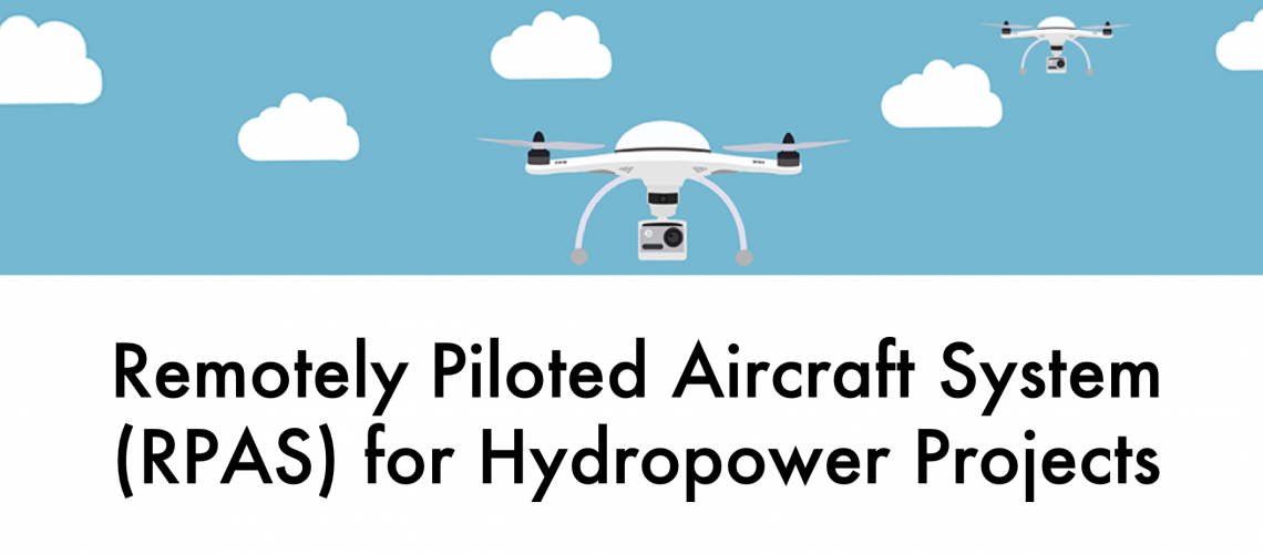 Use of Drones at Hydropower Projects