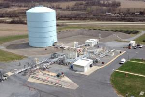 UGI's Temple I LNG Peak Shaving Plant near Reading, PA